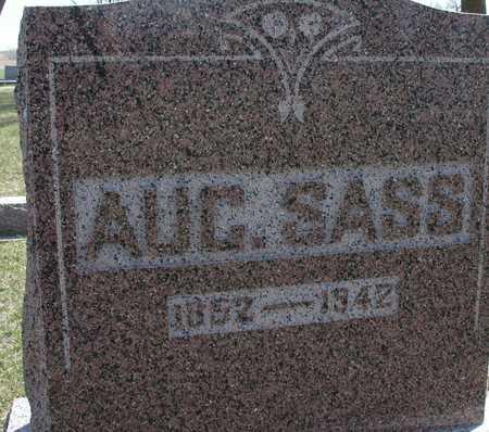 SASS, AUGUST - Ida County, Iowa | AUGUST SASS