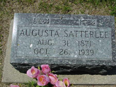 SATTERLEE, AUGUSTA - Ida County, Iowa | AUGUSTA SATTERLEE