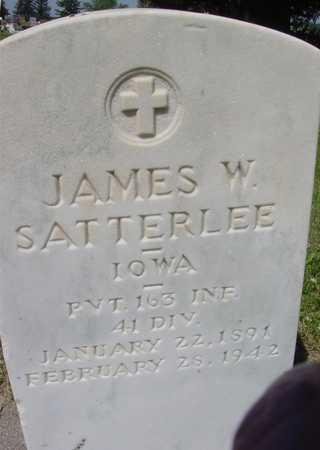 SATTERLEE, JAMES W. - Ida County, Iowa | JAMES W. SATTERLEE