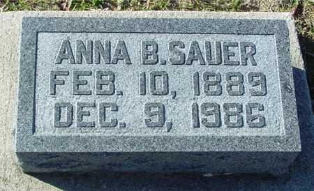 SAUER, ANNA B. - Ida County, Iowa | ANNA B. SAUER