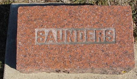 SAUNDERS, A. D. & CHARLES - Ida County, Iowa | A. D. & CHARLES SAUNDERS
