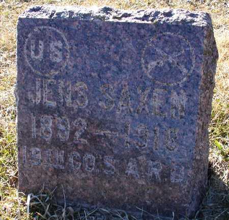 SAXEN, JENS - Ida County, Iowa | JENS SAXEN