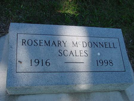 MCDONNELL SCALES, ROSEMARY - Ida County, Iowa | ROSEMARY MCDONNELL SCALES