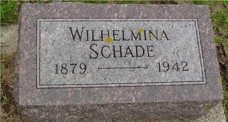 SCHADE, WILHELMINE - Ida County, Iowa | WILHELMINE SCHADE