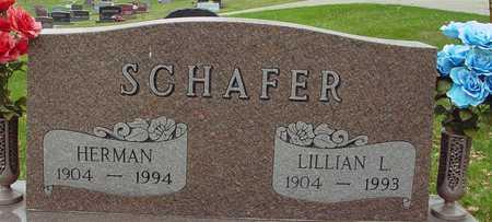 SCHAFER, HERMAN & LILLIAN - Ida County, Iowa | HERMAN & LILLIAN SCHAFER