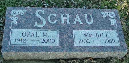 SCHAU, BILL & OPAL M. - Ida County, Iowa | BILL & OPAL M. SCHAU