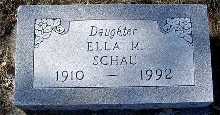 SCHAU, ELLA M. - Ida County, Iowa | ELLA M. SCHAU