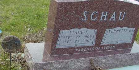 SCHAU, LOUIE F. - Ida County, Iowa | LOUIE F. SCHAU
