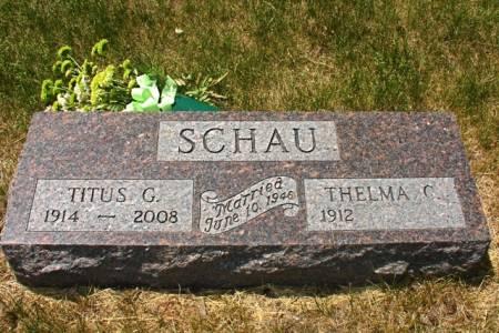 SCHAU, TITUS G. - Ida County, Iowa | TITUS G. SCHAU