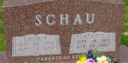 SCHAU, VERNETTE E. - Ida County, Iowa | VERNETTE E. SCHAU