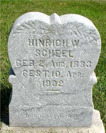 SCHEEL, HINRICH W. - Ida County, Iowa | HINRICH W. SCHEEL