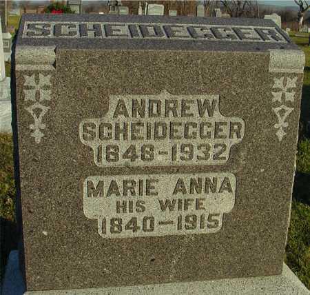 SCHEIDEGGER, ANDREW & MARE - Ida County, Iowa | ANDREW & MARE SCHEIDEGGER