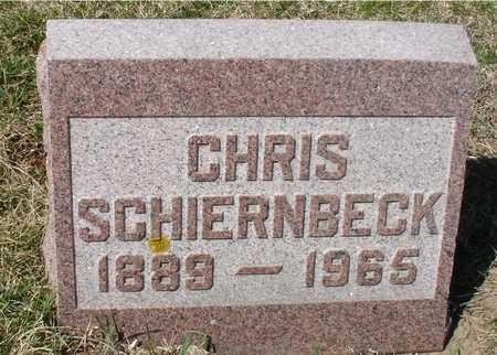 SCHIERNBECK, CHRIS - Ida County, Iowa | CHRIS SCHIERNBECK