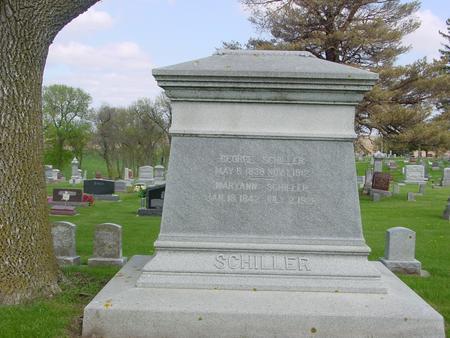 SCHILLER, GEORGE - Ida County, Iowa   GEORGE SCHILLER