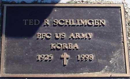 SCHLIMGEN, TED R. - Ida County, Iowa | TED R. SCHLIMGEN