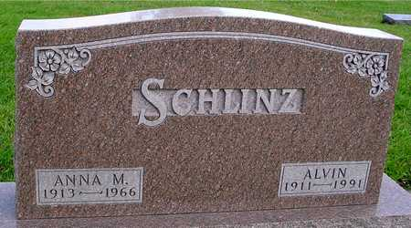 SCHLINZ, ALVIN & ANNA - Ida County, Iowa | ALVIN & ANNA SCHLINZ