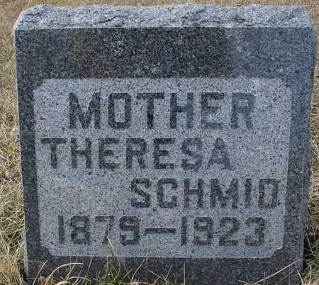 SCHMID, THERESA - Ida County, Iowa   THERESA SCHMID