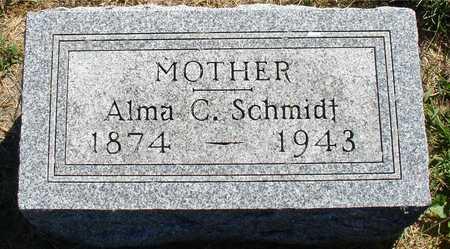 SCHMIDT, ALMA C. - Ida County, Iowa | ALMA C. SCHMIDT