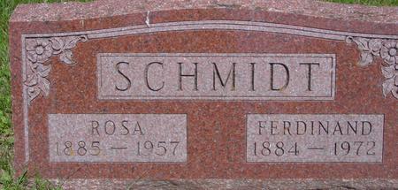 SCHMIDT, FERDINAND - Ida County, Iowa | FERDINAND SCHMIDT
