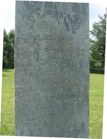 SCHMIDT, FRIEDRICH & BARBARA - Ida County, Iowa   FRIEDRICH & BARBARA SCHMIDT