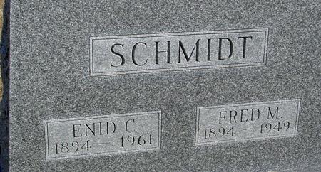 SCHMIDT, FRED M. & ENID C. - Ida County, Iowa | FRED M. & ENID C. SCHMIDT
