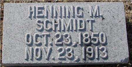 SCHMIDT, HENNING M. - Ida County, Iowa | HENNING M. SCHMIDT