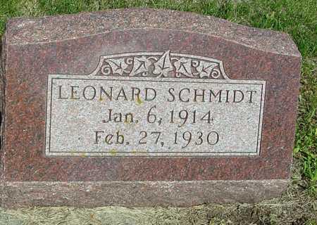 SCHMIDT, LEONARD - Ida County, Iowa | LEONARD SCHMIDT