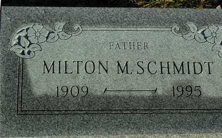 SCHMIDT, MILTON M. - Ida County, Iowa | MILTON M. SCHMIDT