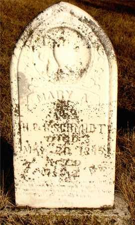 SCHMIDT, MARY A. - Ida County, Iowa | MARY A. SCHMIDT