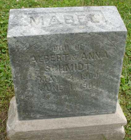 SCHMIDT, MABEL - Ida County, Iowa | MABEL SCHMIDT