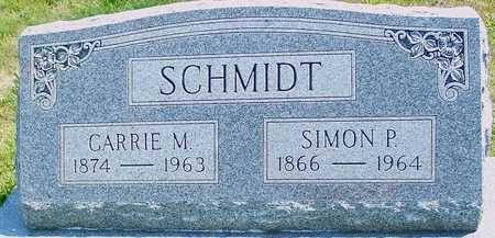 SCHMIDT, SIMON & CARRIE - Ida County, Iowa   SIMON & CARRIE SCHMIDT