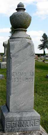 SCHNARE, EMMA M. - Ida County, Iowa   EMMA M. SCHNARE
