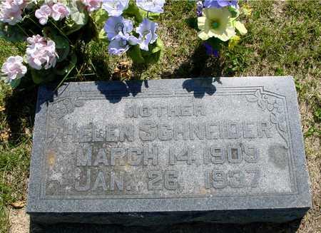SCHNEIDER, HELEN - Ida County, Iowa | HELEN SCHNEIDER