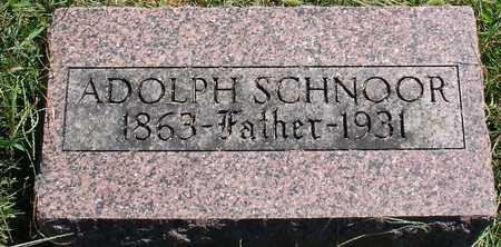 SCHNOOR, ADOLPH - Ida County, Iowa | ADOLPH SCHNOOR