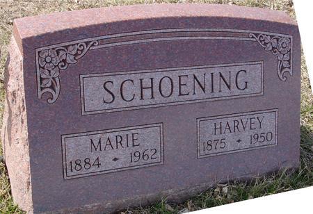 SCHOENING, HARVEY & MARIE - Ida County, Iowa   HARVEY & MARIE SCHOENING