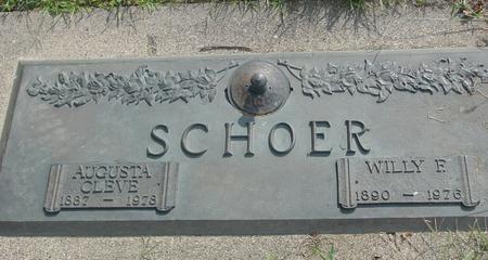 SCHOER, WILLY & AUGUSTA - Ida County, Iowa | WILLY & AUGUSTA SCHOER