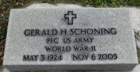 SCHONING, GERALD H. - Ida County, Iowa | GERALD H. SCHONING
