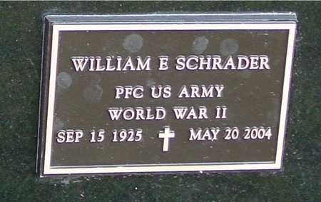 SCHRADER, WILLIAM E. - Ida County, Iowa | WILLIAM E. SCHRADER