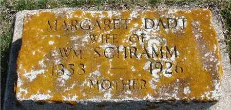 SCHRAMM, MARGARET - Ida County, Iowa   MARGARET SCHRAMM