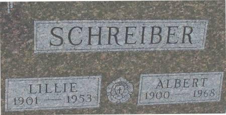 SCHREIBER, LILLIE - Ida County, Iowa   LILLIE SCHREIBER