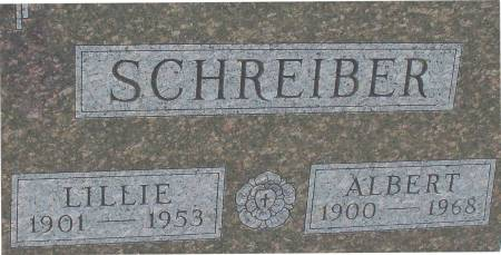 SCHREIBER, ALBERT - Ida County, Iowa | ALBERT SCHREIBER