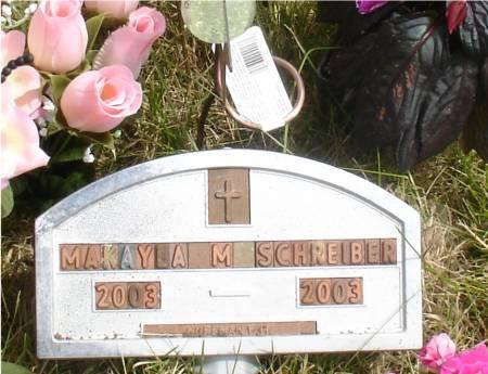 SCHREIBER, MAKAYLA M. - Ida County, Iowa | MAKAYLA M. SCHREIBER