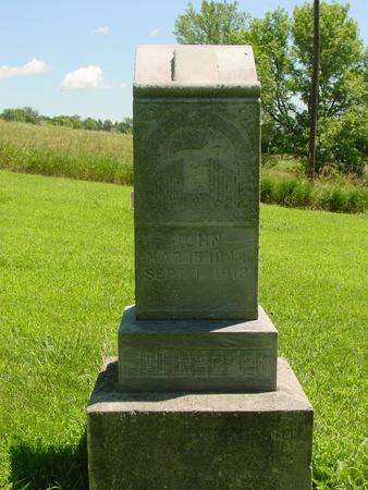 SCHREPFER, JOHN - Ida County, Iowa | JOHN SCHREPFER