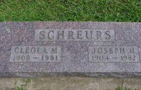 SCHREURS, JOSEPH & CLEOLA - Ida County, Iowa | JOSEPH & CLEOLA SCHREURS