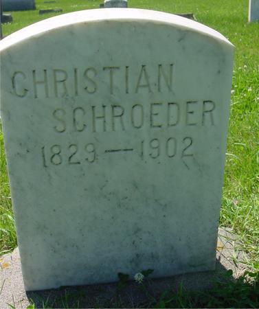 SCHROEDER, CHRISTIAN - Ida County, Iowa | CHRISTIAN SCHROEDER