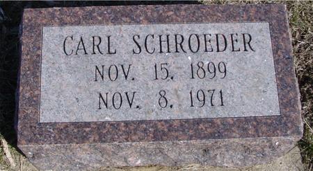 SCHROEDER, CARL - Ida County, Iowa   CARL SCHROEDER