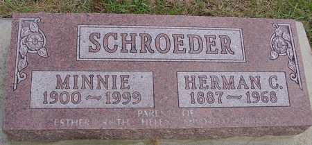 SCHROEDER, HERMAN & MINNIE - Ida County, Iowa | HERMAN & MINNIE SCHROEDER