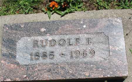 SCHROEDER, RUDOLF F. - Ida County, Iowa | RUDOLF F. SCHROEDER
