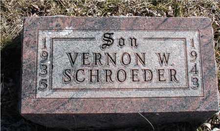 SCHROEDER, VERNON W. - Ida County, Iowa | VERNON W. SCHROEDER