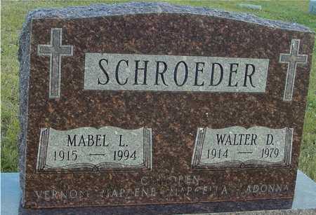 SCHROEDER, WALTER & MABEL - Ida County, Iowa | WALTER & MABEL SCHROEDER
